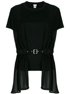 layered belt T-shirt Comme Des Garçons Noir Kei Ninomiya
