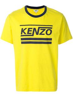 футболка с принтом-логотипом Kenzo