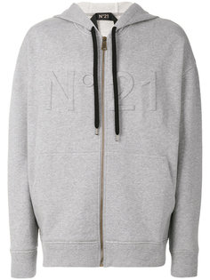 three-dimensional logo hoodie Nº21
