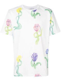 tulip print T-shirt Soulland