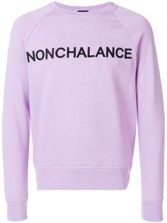 Nonchalance sweatshirt Nº21