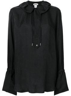 блузка с оборкой на вороте  Hope