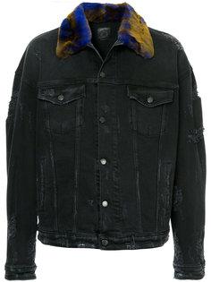джинсовая куртка с воротником Alchemist