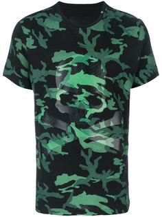 камуфляжная футболка с принтом Philipp Plein