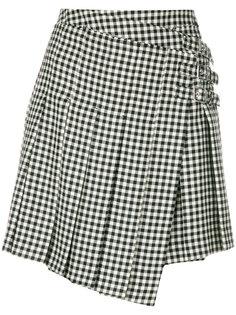 юбка с запахом McQ Alexander McQueen
