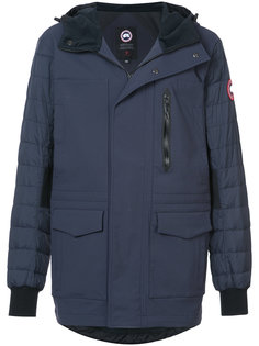 куртка на молнии с капюшоном Canada Goose