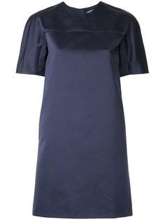 платье шифт с короткими рукавами MSGM