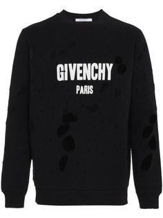 толстовка с принтом логотипа Givenchy