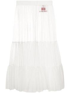сетчатая юбка  Moncler Gamme Rouge