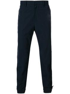 брюки чинос с логотипом Prada