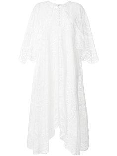 платье с английской вышивкой Chloé