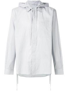 рубашка с капюшоном и шнурком  Craig Green