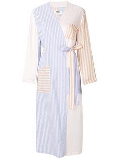 удлиненный полосатый пиджак Mm6 Maison Margiela