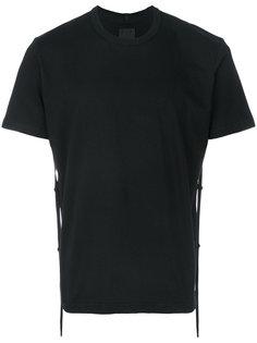 футболка с ремешком сзади  Craig Green