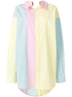 striped panel shirt Marni