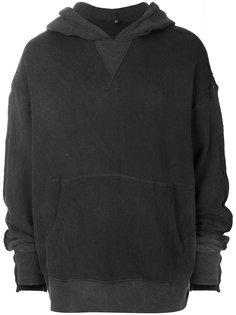 classic long sleeved hoodie R13
