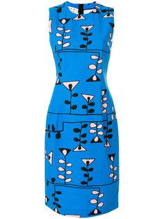 платье-футляр с геометрическим узором Marni