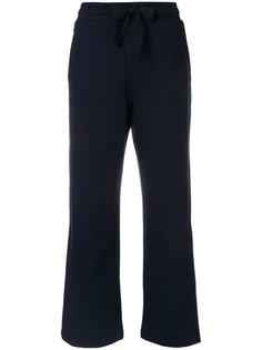 спортивные брюки с завышенной талией  Moncler