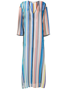 длинное платье в полоску  Dvf Diane Von Furstenberg