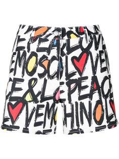 шорты с принтом логотипа Love Moschino