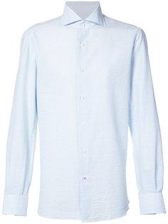 полосатая рубашка Isaia