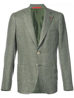 пиджак с накладными карманами Isaia