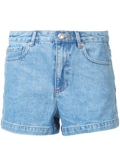 джинсовые шорты A.P.C.