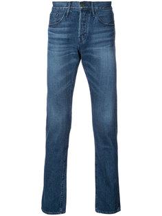 узкие джинсы с отделкой селвидж 3X1