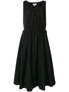 платье со сборкой  Kenzo