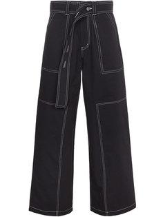 брюки с поясом  Liam Hodges