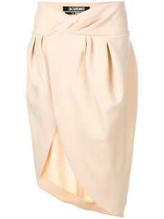 asymmetric wrap skirt Jacquemus