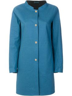 пальто без воротника  Herno