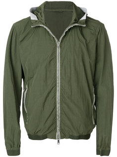 hooded zip-up jacket Emporio Armani