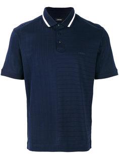 рубашка-поло с ребристой фактурой Z Zegna