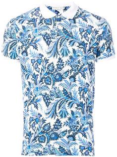 рубашка-поло с контрастной отделкой Etro