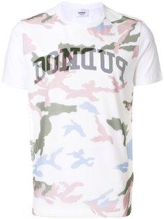 футболка с камуфляжным принтом Dondup