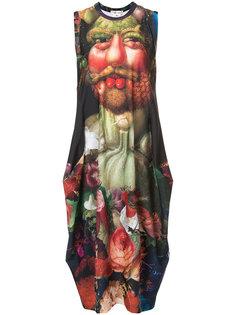 платье-футболка с рисунком Comme Des Garçons