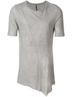 асимметричная футболка  Masnada