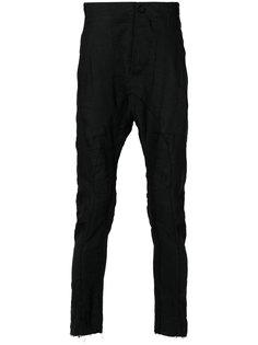 брюки чинос с заниженным шаговым швом  Masnada