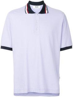 рубашка-поло с короткими рукавами MSGM