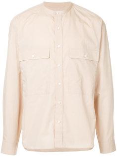 рубашка с воротником-мандарин Lemaire