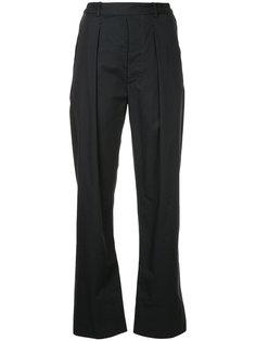 прямые брюки со складками Lemaire