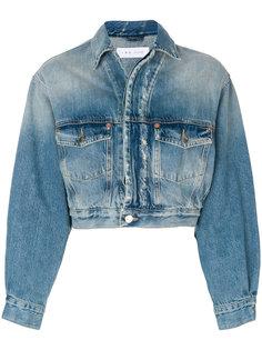 укороченная джинсовая куртка  Iro