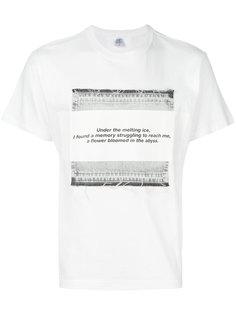 футболка с принтом Julius