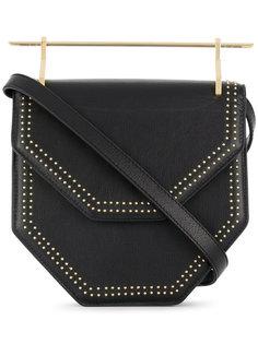 M004 Amorfa studded shoulder bag M2malletier