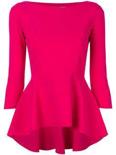 блузка с баской  Chiara Boni La Petite Robe