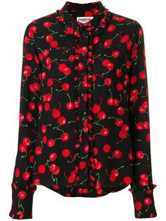 рубашка с принтом вишен  Essentiel Antwerp