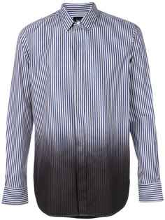 colour gradient striped shirt Ann Demeulemeester Icon