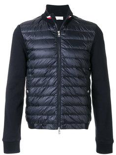 padded sweatshirt jacket Moncler