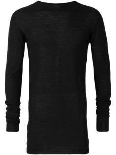 трикотажный свитер Rick Owens